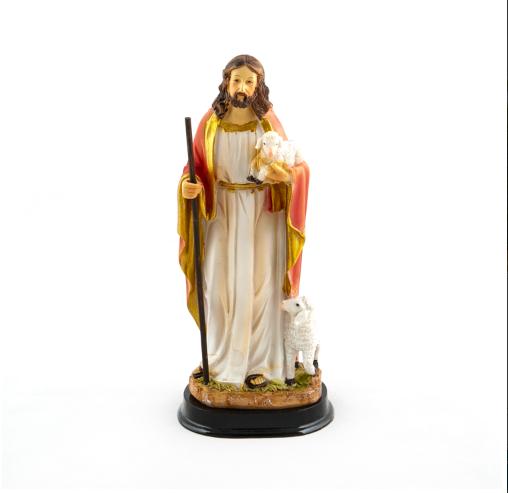 Jezus de Goede Herder beeld 20 cm te koop