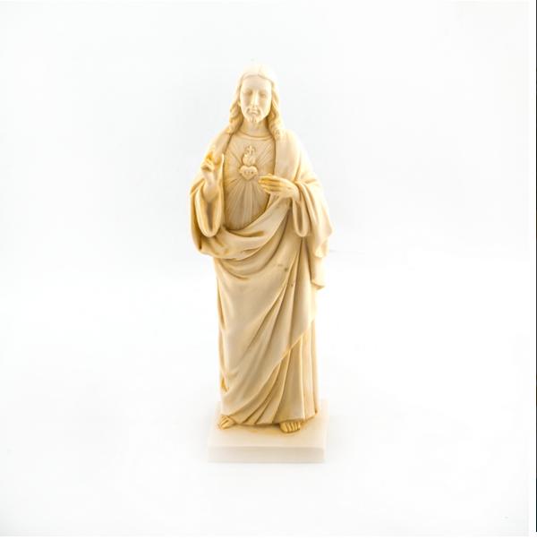 Heilig Hart Jezus beeld 22 cm hoogwaardig te koop