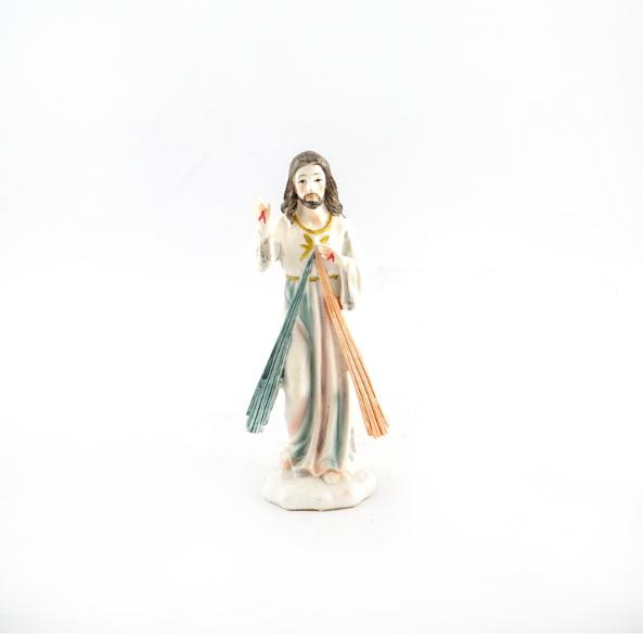 Barmhartige Jezus beeld 12 cm te koop