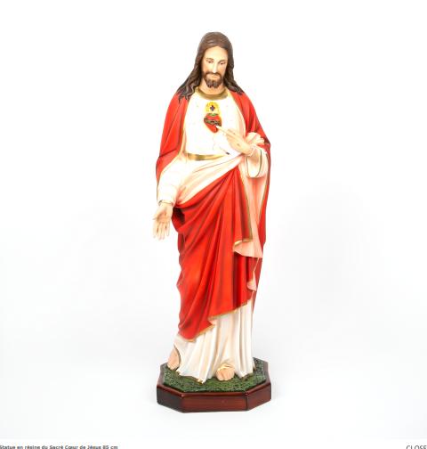 Heilig Hart Jezus beeld 85 cm groot kopen
