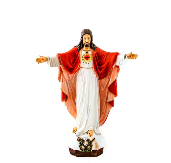 Heilig Hart Jezus met armen open beeld 40 cm groot kopen