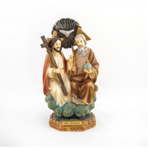 Hlg. Drie eenheid (Vader, Zoon Jezus, Heilige geest)beeld 22,5 cm kopen