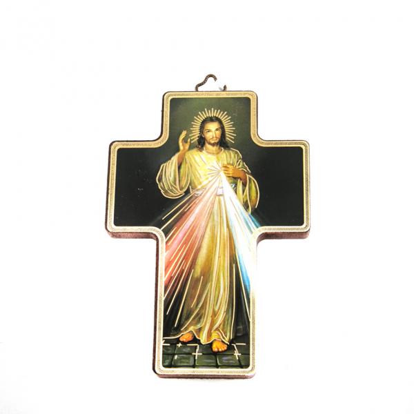 Icoonkruis Barmhartige Jezus 13 x 9 cm te koop online