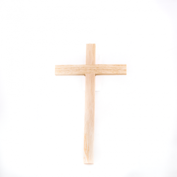 Houten Muurkruis zonder Corpus 12 cm webshop te koop
