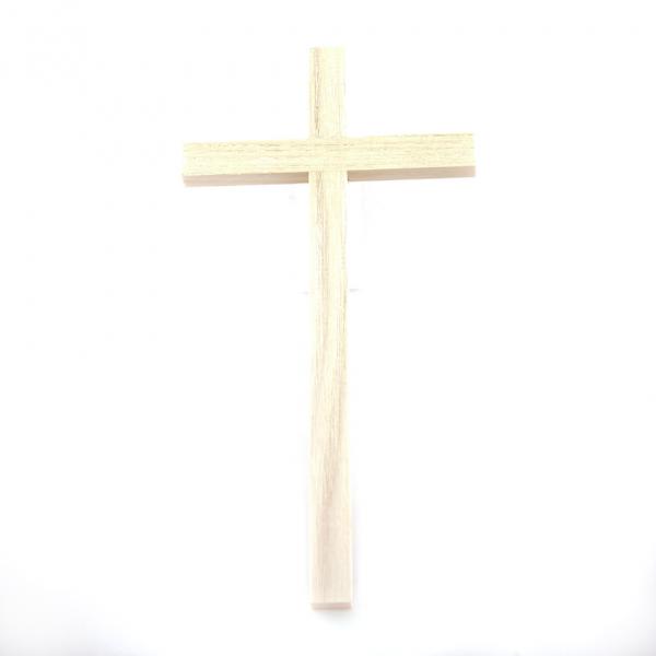 Houten Muurkruis zonder Corpus 16 cm Wit te koop online