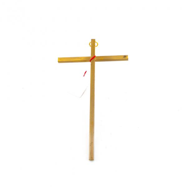 Koper Messing Muurkruis zonder Corpus 17 cm webshop te koop