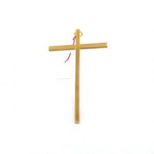 Koper Messing Muurkruis zonder Corpus 14 cm webshop bestellen
