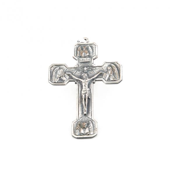 Muurkruis van de evangelisten van geoxideerd brons 12 cm kopen online