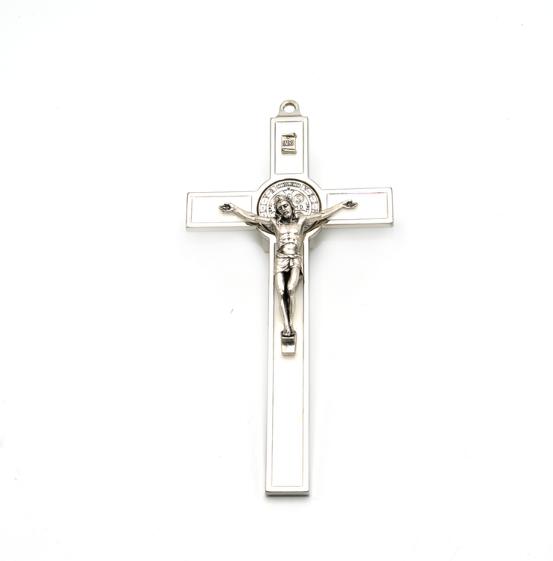 Hlg. Benedictus Muurkruis Wit bestel online