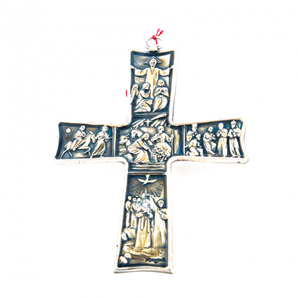 Muurkruis / Kruisbeeld speciaal van de geboorte Dhr. Jezus kopen online
