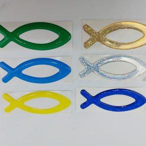 Vis symbool sticker kopen online