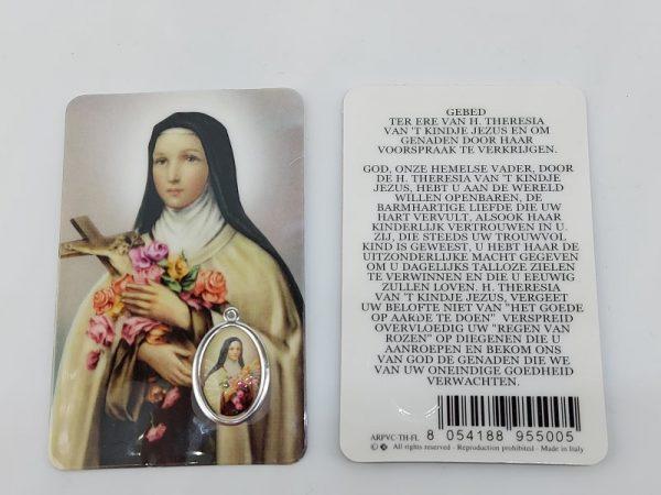 Bidprentje Theresia van Lissieux met gebed online kopen