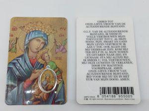 Bidprentje Maria Altijd Durende bijstand met gebed online kopen