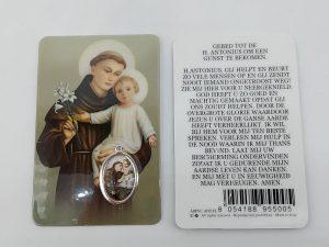 Bidprentje Heilige Antonius met gebed online kopen