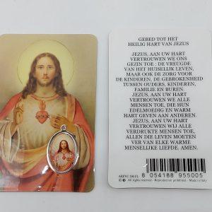 Bidprentje Jezus Heilig Hart met gebed online kopen