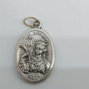 Medaille kopen Heilige Barbara