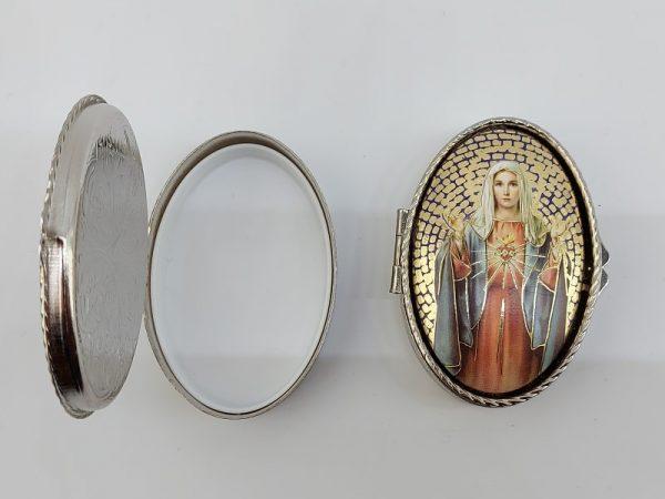 Rozenkransdoosje Maria Heilig Hart kopen online