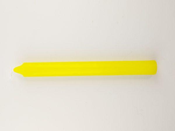 Doorgekleurde kaars botanica online kopen geel